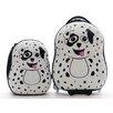 New Image World Cuties and Pals 2 Piece Dalmatian Luggage Set