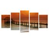 Ready2hangart 'Belize Storm' by Bruce Bain 5 Piece Photographic Print on Wrapped Canvas Set