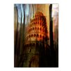 Ready2hangart 'Tower of Pisa' by Alexis Bueno Graphic Art on Wrapped Canvas