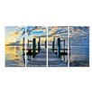 Ready2hangart 'Key Largo' by Christopher Doherty 4 Piece Photographic Printt on Wrapped Canvas Set