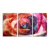 Ready2hangart 'Abstract Rose' by Alexis Bueno 3 Piece Wrapped Canvas Wall Art Set