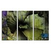 Ready2hangart 'Tropical Abstract Flower' by Alexis Bueno 3 Piece Wrapped Canvas Wall Art Set