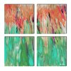 Ready2hangart 'Abstract Landsape' by Alexis Bueno 4 Piece Painting Print on Wrapped Canvas Set