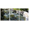 Ready2hangart 'Maui Rocky Waterfall' by Chris Doherty 3 Piece Wrapped Photographic Print on Canvas Set