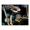 Ready2hangart 'The Color of Jazz VI' by Alexis Bueno Oversized Graphic Art on Wrapped Canvas