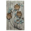 Stratton Home Decor Rustic Floral Panel II Wall Décor