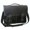 AmeriLeather Classical Leather Organizer Briefcase