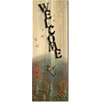 WGI-GALLERY Welcome Summer Hummer Painting Print on Wood