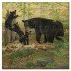 WGI-GALLERY Playtime Bears Painting Print on Wood