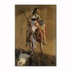 WGI-GALLERY Ghost of the Plains Painting Print on Wood