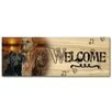 WGI-GALLERY Welcome Lab Trio Painting Print on Wood