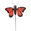 Russco Solar Buddies Flapping Monarch Butterfly Plant Pick