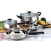Culinary Edge 7 Piece Stainless Steel Cookware Set