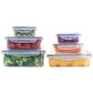Popit! Stackit! 12 Piece Airtight Container Set