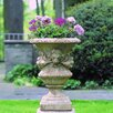 Campania International Lion Round Urn Planter