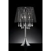 "Sintechno Nightfall Crystal 28"" H Table Lamp with Empire Shade"