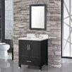 """MTD Vanities Ricca 30"""" Single Sink Bathroom Vanity Set with Mirror"""