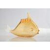 Diamond Star Glass Fish Figurine