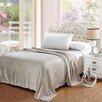 Plazatex / Sheradian Premium Pinstripe Woven Fabric Blanket