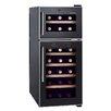 Homeimage 21 Bottle Dual Zone Freestanding Wine Refrigerator