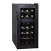 Homeimage 18 Bottle Dual Zone Freestanding Wine Refrigerator