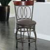 "HomePop Olivia 24"" Swivel Bar Stool with Cushion"