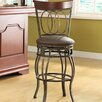 "HomePop Olivia 29"" Swivel Bar Stool with Cushion"