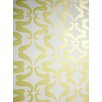 "Flavor Paper Mustachio 15' x 27"" Paisley Wallpaper (Set of 3)"