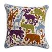 Jaipur Rugs National Geographic Animal Cotton Throw Pillow