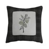 Mytex Home Fashions Barnwood Embroidery Decorative Throw Pillow