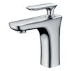 American Imaginations Single Hole Brass Faucet Less Handle with Drain
