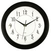 "Artistic Products Ebony Time 12"" Wall Clock"