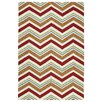 Kaleen Escape Red Indoor/Outdoor Area Rug