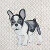 Judith Raye Paintings LLC French Bulldog Framed Art