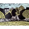 Zatista Limited Edition 'Fort Greene Park, Brooklyn, Linocut' by Michelle Han Painting Print