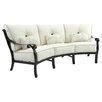 Pride Family Brands Bellanova Crescent Sofa with Cushion