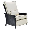 Pride Family Brands Jakarta 3 Position Recliner Chair with Cushion