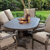 Pride Family Brands Dining Table with Umbrella Hole