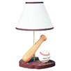 "Cal Lighting Juvenile Baseball 15"" H Table Lamp with Empire Shade"