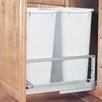 "Rev-A-Shelf 22.94"" Double 50 Quart Pullout Waste Container"