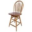 "AW Furniture Windsor 24"" Swivel Bar Stool"