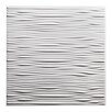 Genesis Drifts 2 ft. x 2 ft. PVC Lay-In Ceiling Tile in White (Set of 12)