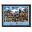 PubsOf 'St Louis, MO' by Brian McKelvey Frame Poster Painting Print