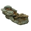 Hi-Line Gift Ltd. Fiber and Resin Stone and Branch Waterfall Fountain