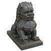 Hi-Line Gift Ltd. Foo Dog Right Paw on Cub Statue