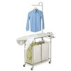 HoneyCanDo Foldable Ironing Laundry Center and Valet