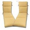 Comfort Clas Geobella Outdoor Sunbrella Chaise Cushion (Set of 2)