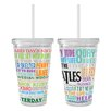 Boelter Brands Beatles Greatest Hits Color Wall Tumbler