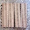 "Vifah Composite Ipe 12"" x 12"" Deck Tiles (Set of 11)"
