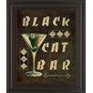 Classy Art Wholesalers Cocktail Hour III by Catherine Jones Framed Vintage Advertisement